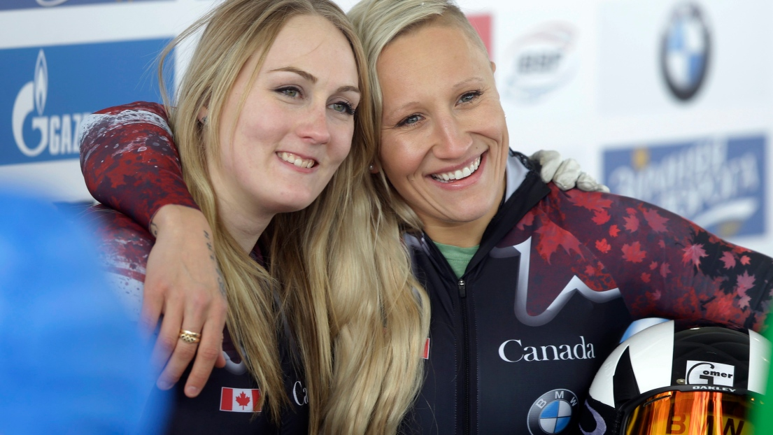 Melissa Lotholz et Kaillie Humphries