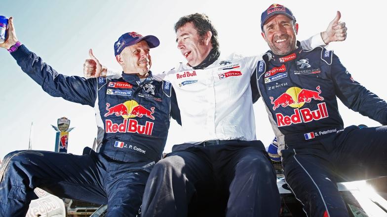 Paul Jean Cottret, Stéphane Peterhansel et Bruno Famin