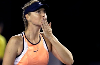 Maria Sharapova doit regagner les coeurs