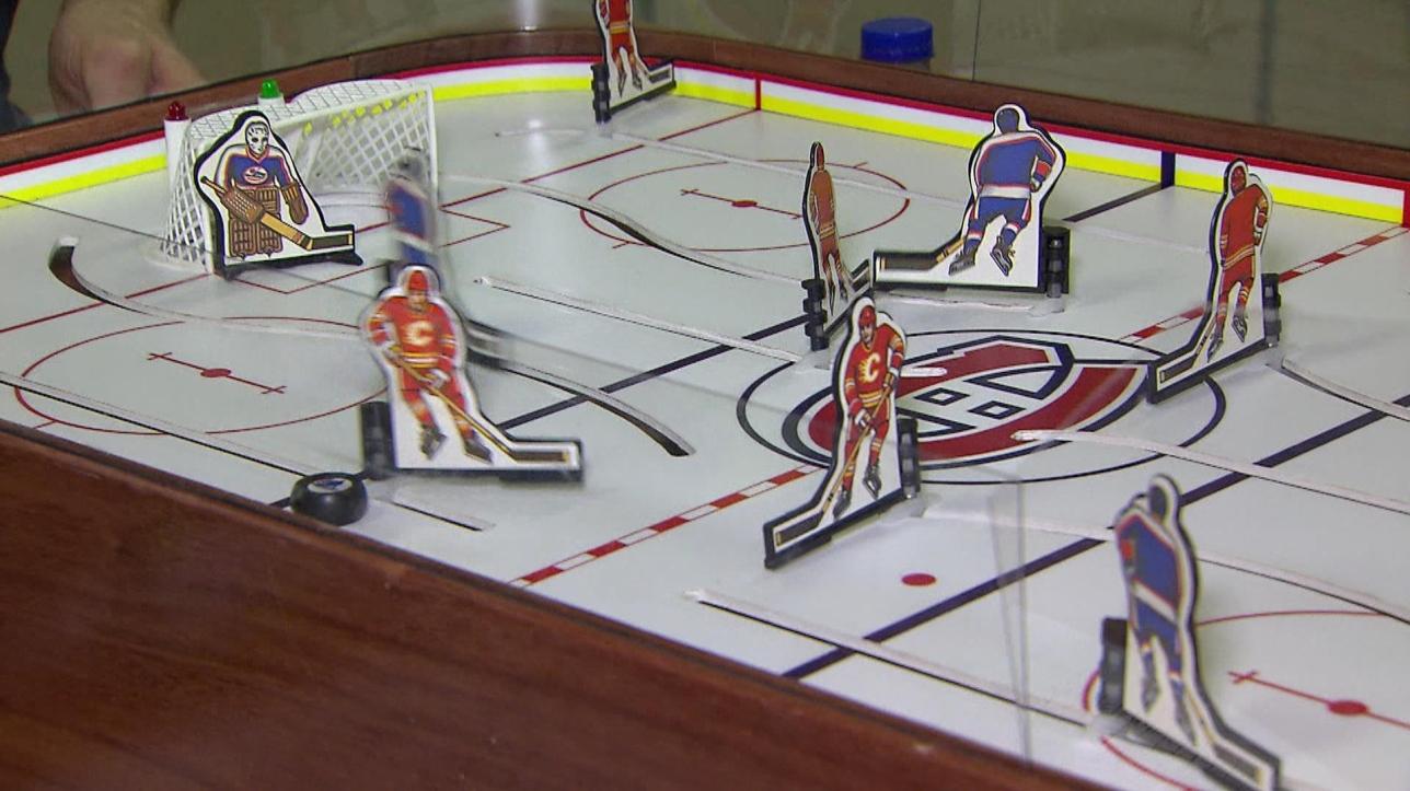 Une ligue nationale de hockey sur table vid o - Ligue nationale de hockey ...