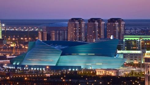Le Central Concert Hall à Astana