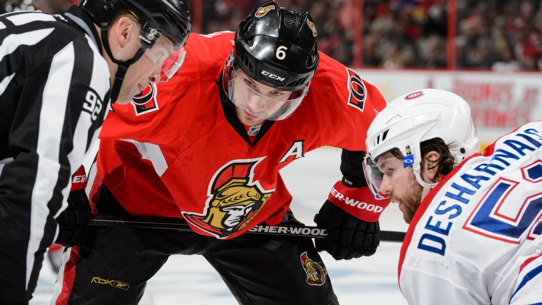Bobby Ryan et David Desharnais