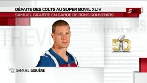 Super Bowl : De bons souvenirs pour Giguère