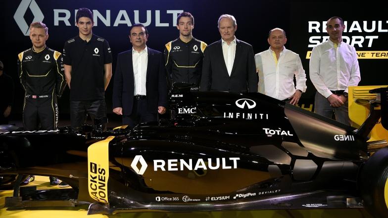 La nouvelle monoplace Renault RS16