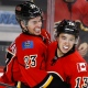 Sean Monahan et Johnny Gaudreau