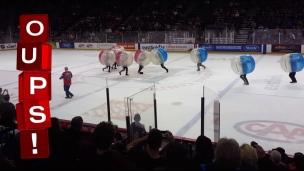 Oups! Le hockey-bulle