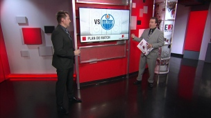 L'adversaire: les Oilers d'Edmonton