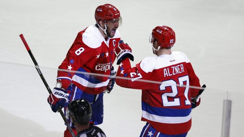 Alex Ovechkin et Karl Alzner