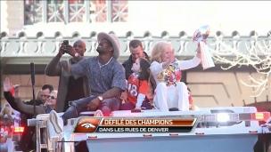 Les Broncos acclamés à Denver