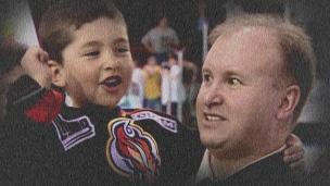 Benoit-Olivier Groulx dans le hockey depuis toujours