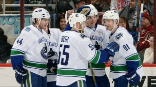 Canucks 2 - Coyotes 1