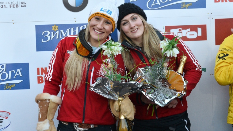 Kaillie Humphries et Melissa Lotholz