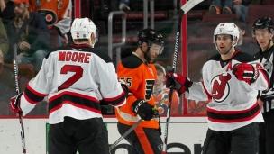 Devils 2 - Flyers 1 (Prol.)