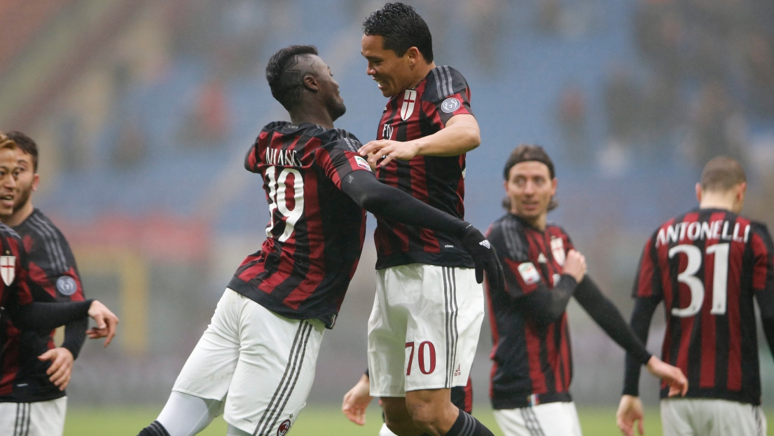 Carlos Bacca et Mbaye Niang