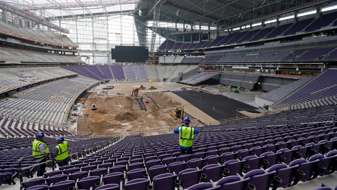 Nfl Le Nouveau Stade Des Vikings Du Minnesota Est Pr 234 T 224