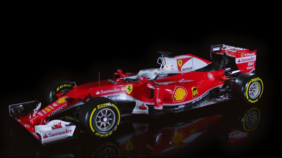 La SF16-H de Ferrari