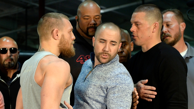 Conor McGregor et Nate Diaz
