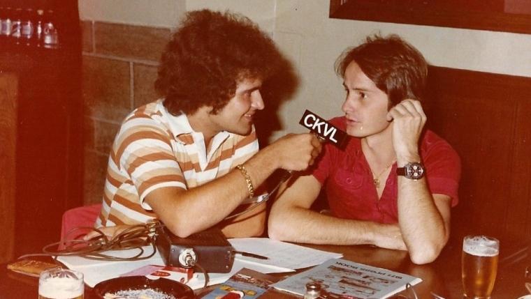 Pierre Houde et Gilles Villeneuve