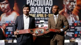 Manny Pacquiao et Timothy Bradley