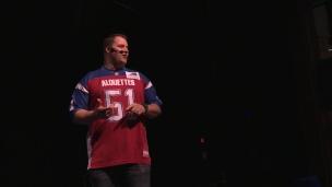 Kristian Matte fait la tournée « Ensemble à l'école »