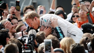Trois en trois pour Nico Rosberg