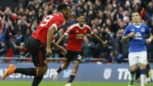 Everton 1 - Manchester United 2