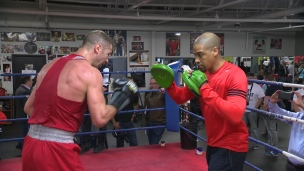 Lucian Bute : L'apport de Howard Grant