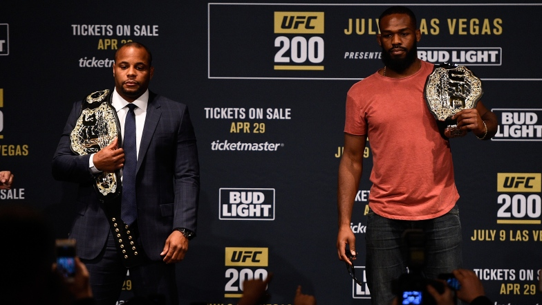 Daniel Cormier et Jon Jones