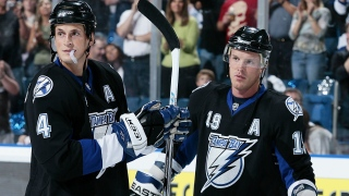 Vincent Lecavalier et Brad Richards