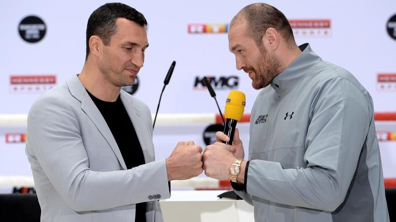 Wladimir Klitschko et Tyson Fury
