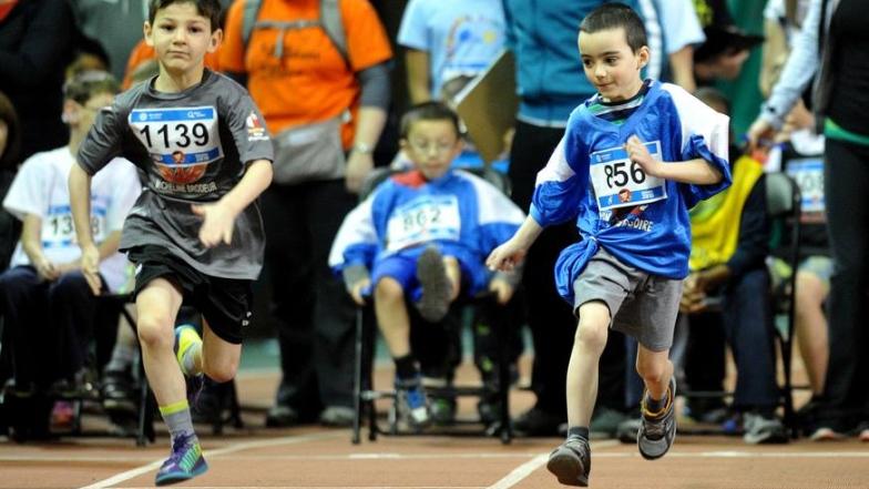 Environ 800 jeunes handicapés ont participé jeudi au Défi sportif AlterGo