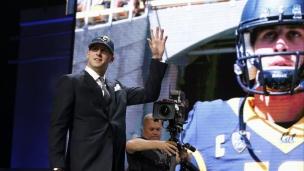 Jared Goff est le tout premier choix des Rams