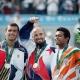 Sergi Bruguera, Andre Agasi et Leander Paes