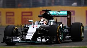 Hamilton domine la 2e séance d'essais libres