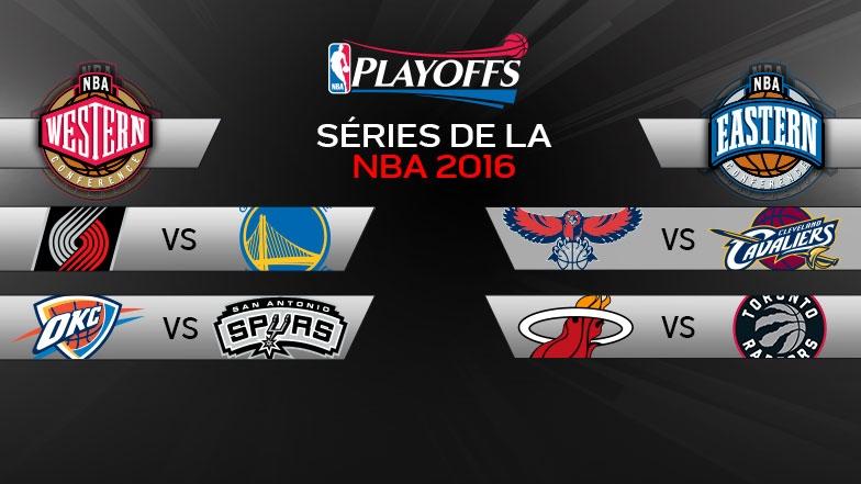 Séries NBA 2016 - 2e ronde