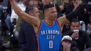 Thunder 98 - Spurs 97