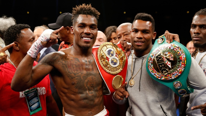 Jermall Charlo et son frère Jermell