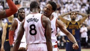 Cavaliers 99 - Raptors 105