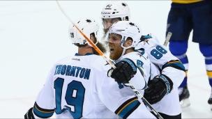 Pavelski complète le jeu de Thornton