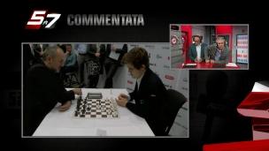 Commentata: un superbe match d'échec!