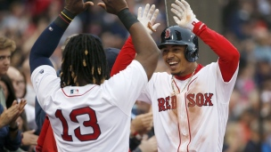 Red Sox 10 - Rockies 3