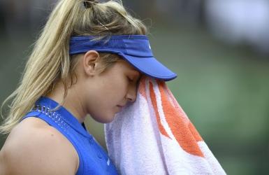 Eugenie Bouchard éliminée dès le 1er tour
