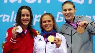 Médaillée paralympique!