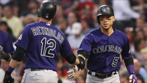Rockies 8 - Red Sox 2