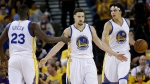 Les Warriors restent en vie face au Thunder