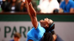 Serena doit travailler jusqu'au bout!