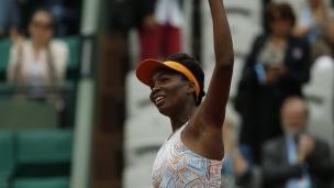 Venus s'impose face à Cornet