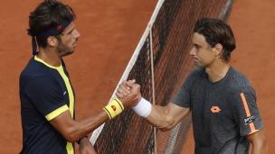 Ferrer remporte un duel d'Espagnols