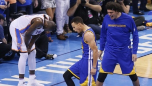 Warriors 108 - Thunder 101