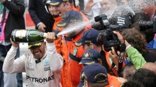 Hamilton goûte de nouveau à la victoire